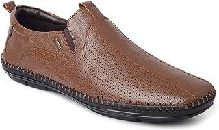 Buckaroo Albert Leather Slip On Tan
