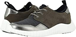 Dark Gray Waterproof Suede/Metal