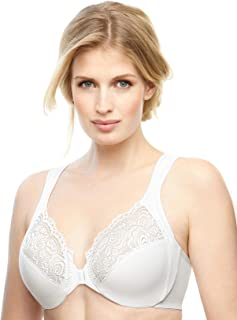 Glamorise Women's Plus Size Full Figure Wonderwire Front Close Bra #1245