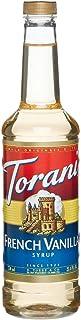 Torani French Vanilla Syrup, 750 ml