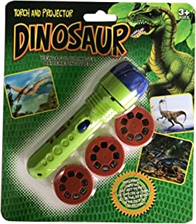 Aneil Projector Flashlight Night Photo Picture Light Bedtime Dinosaur Study Learning Fun Toys for Baby Toddlers