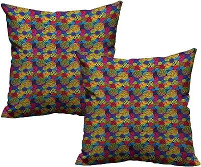 Amazon.com: Acelik Seafoam Pillowcase Abstract Geometric ...