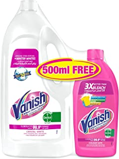 Vanish Liquid Stain Remover White 1.8L and 500ml Pink - 2Piece
