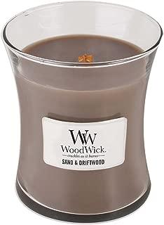 WoodWick Sand & Driftwood 10-Ounce Jar Candle