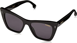 Carrera Women's 1009/s Cateye Sunglasses, Black, 52 mm