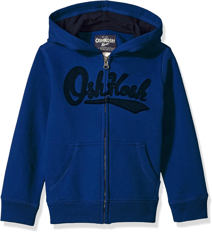 OshKosh B'Gosh Boys' Full Max 41% OFF Hoodie Zip Attention brand Logo