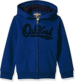Osh Kosh Boys' Full Zip Logo Hoodie,