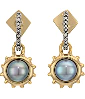 Alexis Bittar - Georgian Pearl Drop Studs Earrings