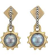 Alexis Bittar - Georgian Pearl Drop Studs Earrings