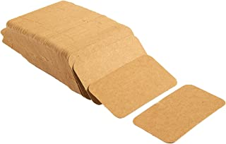 Juvale Pack of 250 Blank Flash Cards for Study or DIY Use - Mini Index Cards - Perfect for Language Learning - 300gsm, Kraft Brown, 2 x 3.5 Inches