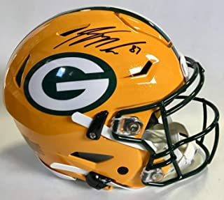 Jordy Nelson Autographed Signed Packers F/S Authentic Speedflex Helmet with JSA Coa