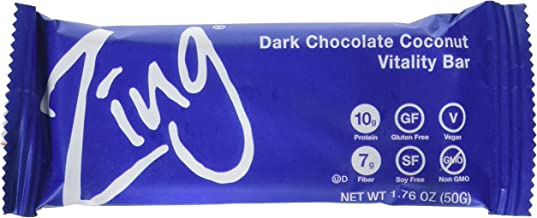 Zing Bars Bars - Chocolate Coconut - 1.76 oz - 12 ct