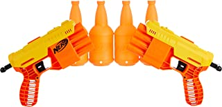 Fang QS-4 Dual Targeting Set -- 18-Piece Nerf Alpha Strike Set Includes 2 Toy Blasters, 4 Half-Targets, and 12 Official Ne...