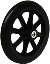 wheelchair front wheels size
