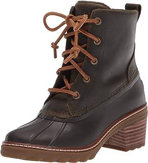 حذاء المطر Sperry Women's Saltwater بكعب جلدي, (اوليف), 38 EU
