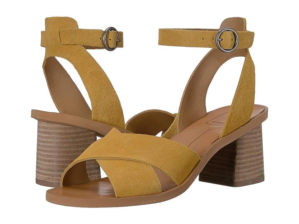 b99332505357b Dolce Vita Rayce (Honey Suede) Women's Shoes