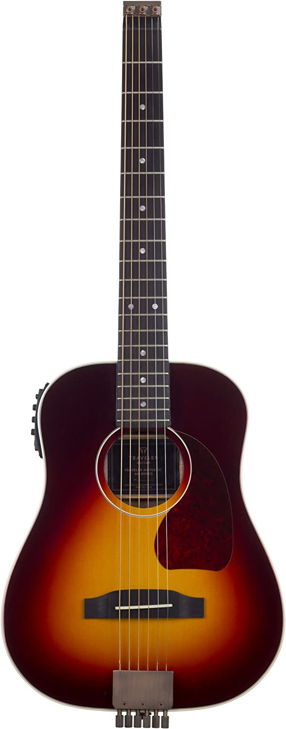 Traveler Guitar 6 Limited price sale String Max 74% OFF Acoustic-Electric Right Sunbur