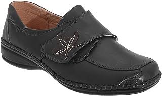comprar comparacion Boulevard - Zapatos casuales de ancho especial con cierre adhesivo para mujer