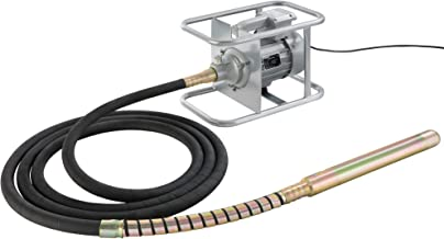 Arebos Hand - betonmengaar | 580 W - 1500 W | elektrisch | flexibele golf | continu gebruik (1500 W 6 M Lengte kabel)