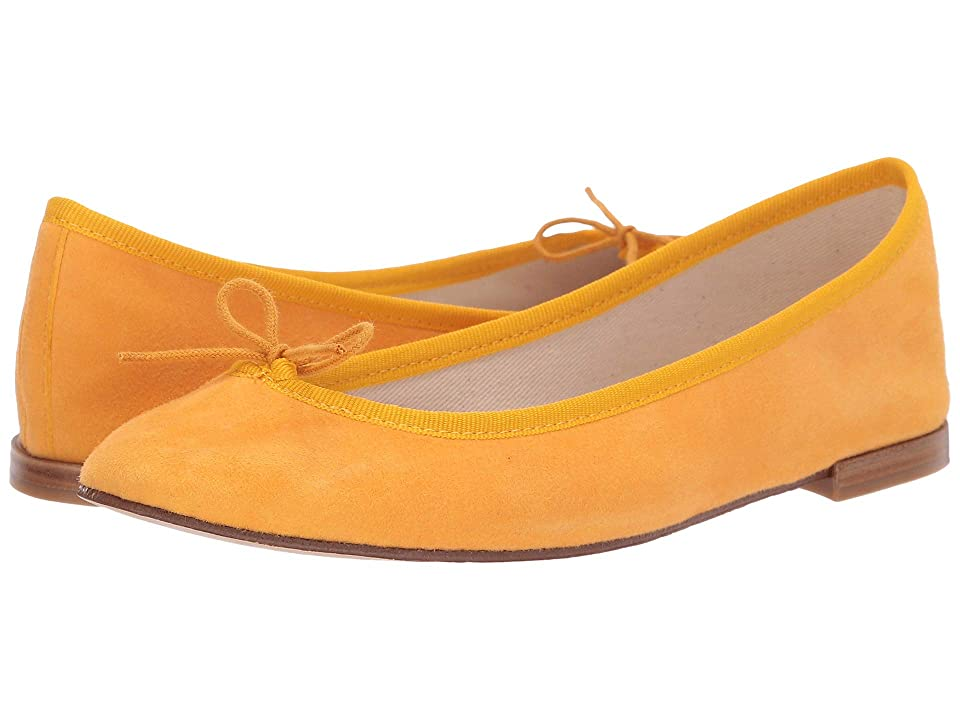Repetto Cendrillon Suede Leather (Yellow Suede) Women