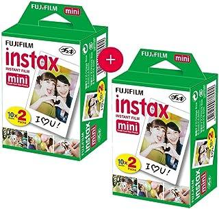 Kit c/ 2 Filmes FujiFilm Instax FILMEMINI20 - 2 Pack c/ 20 Fotos
