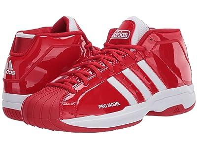 adidas Pro Model 2G (Scarlet/Footwear White/Scarlet) Men