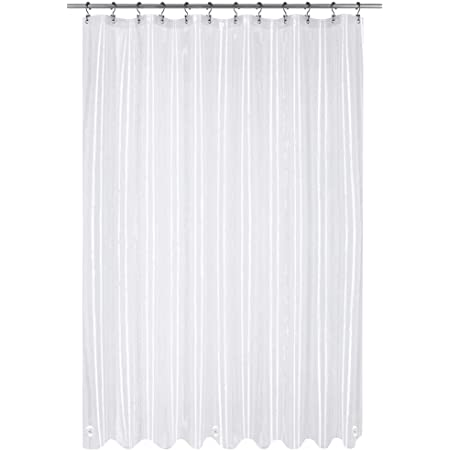 Amazon Com Utopia Bedding 10 Gauge Eva Shower Curtain Liner 72 By 72 Inches Eco Friendly With Metal Grommets Home Kitchen