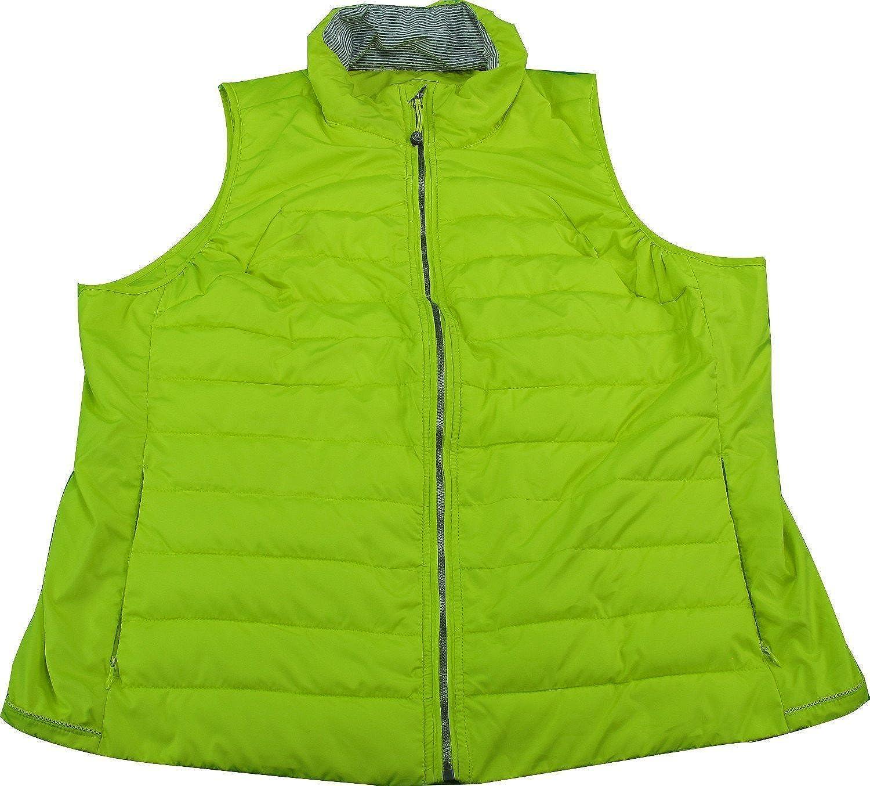 Tangerine Womens Sleeveless Full Challenge the lowest price Yellow service Zip Vest