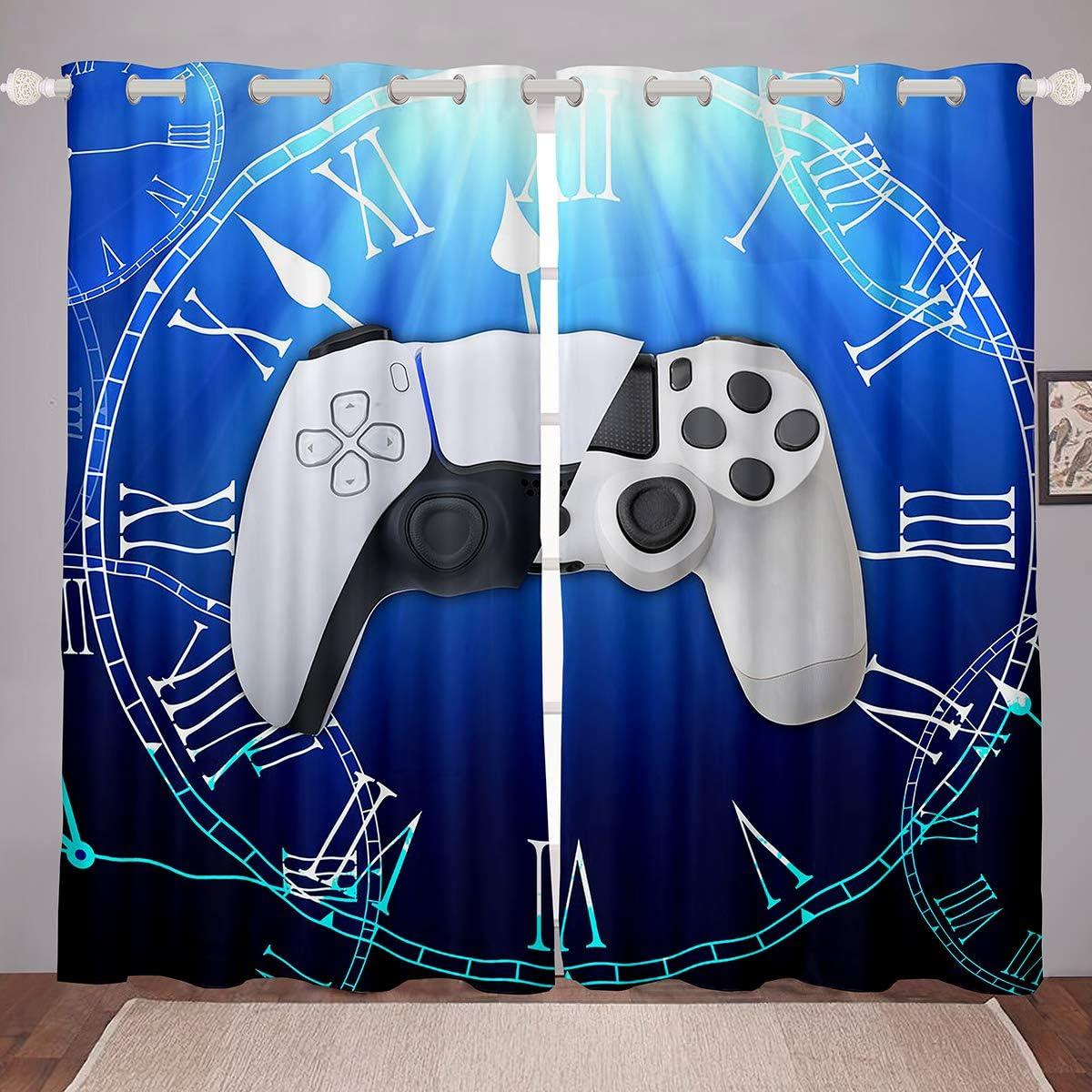 Erosebridal Kids Sale Modern Gamer Curtains for Video San Francisco Mall Bedroom Games