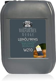 Leinölfirnis 10L Holzöl farblos Leinöl Firnis Holz Öl Holzpflegeöl WO-WE W210