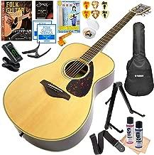 ヤマハ アコースティックギター 初心者セット YAMAHA FS830 NT ナチュラル (入門 16点 セット)