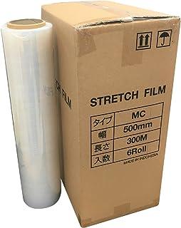 【ケース品】ストレッチフィルムMC 300m(500mm幅) 15ミクロン厚