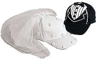 Bride and Groom Baseball Caps Hats Wedding Set