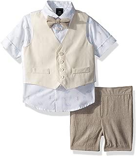 Sean John Baby Boys Four Piece Vest Set