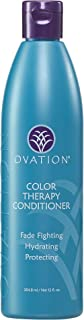 Ovation Color Therapy Conditioner - Salon Quality, Sulfate Free Conditioner with Natural Ingredients and Proteins including Quinoa for Maximum Moisture and Color Protection