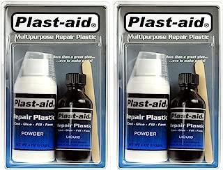 2-Pack Plast-Aid Acrylic, PVC, ABS, CPVC, Plastic Repair Kit - 2 x 6 oz. Kits (12 oz. total)