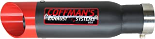 Coffman's Shorty Exhaust for Yamaha R6 R6R (2003-2005) & R6S (2006-2009) Sportbike with Red Tip