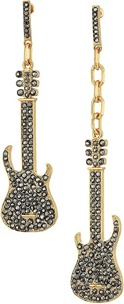 Steve Madden - Casted Guitar Post Earrings