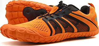 Oranginer Men's Barefoot Shoes - Big Toe Box - Minimalist Cross Training Shoes for Men