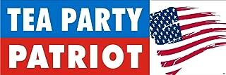 Anti Obama Political Bumper Sticker - Tea Party Patriot