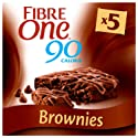 Fibre One 90 Calorie Chocolate Fudge Brownie Bars 5x24g
