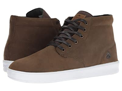 Emerica Romero Laced High (Brown/White) Men