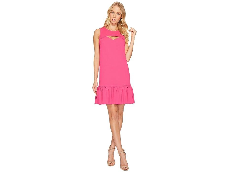 Trina Turk Shea Dress (Brilliant Fuchsia) Women