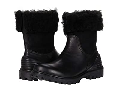ECCO Tredtray Pull-On Boot (Black/Black) Women