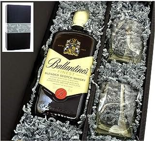 Ballantines Scotch Whisky 0,7l 40%  2 original Gläser in Geschenkkarton