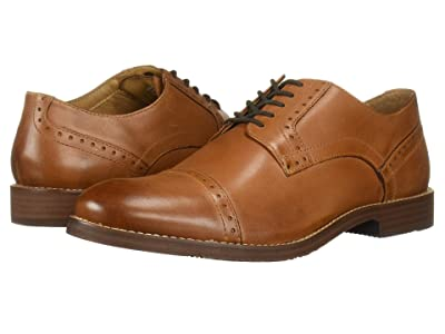 Nunn Bush Middleton Cap Toe Oxford (Cognac) Men