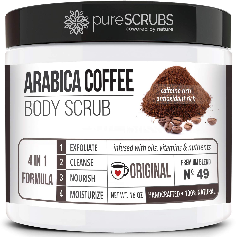 pureSCRUBS Premium Organic Arabica Coffee Set Max 86% OFF - Scrub ORIGI Fashionable Body