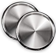 Best silver round tray Reviews