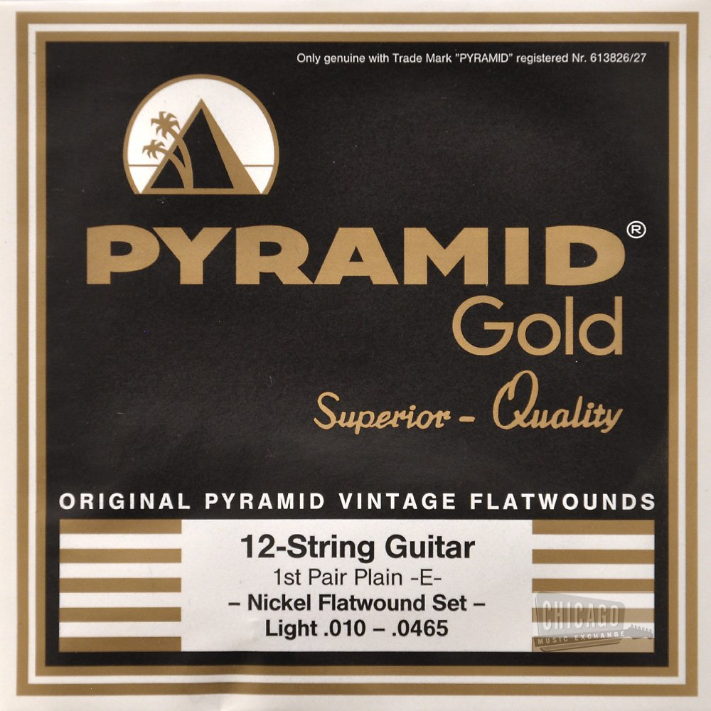 Cheap Pyramid Gold 12 Light Electric Guitar Strings 10-465 Black Friday & Cyber Monday 2019