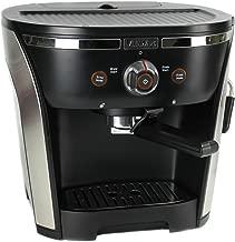 Villaware New NDVLEM1000 15 Bar Pressure Home Espresso/Cappuchino Maker, 2, Black & Silver